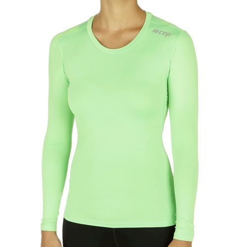 CEP Wingtech Long Sleeve Women - Light Green