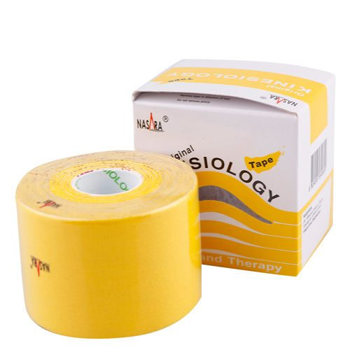 Nasara Kinesiologie Tape 1 Roll - Yellow