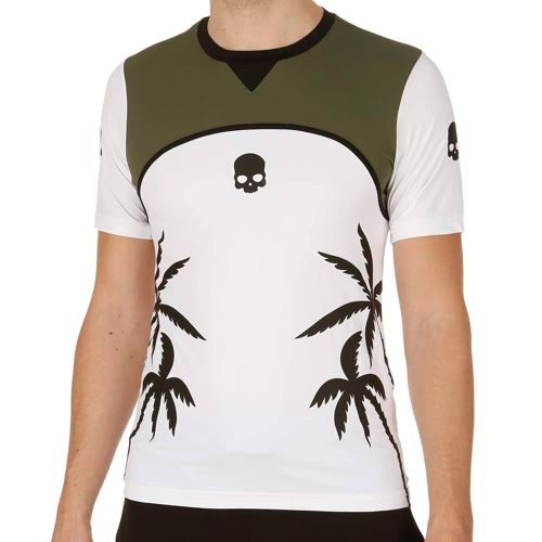 Hydrogen Palms Tech Palms Tech T-Shirt Men - White, Green