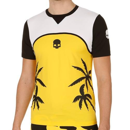 Hydrogen Palms Tech Palms Tech T-Shirt Men - Yellow, White