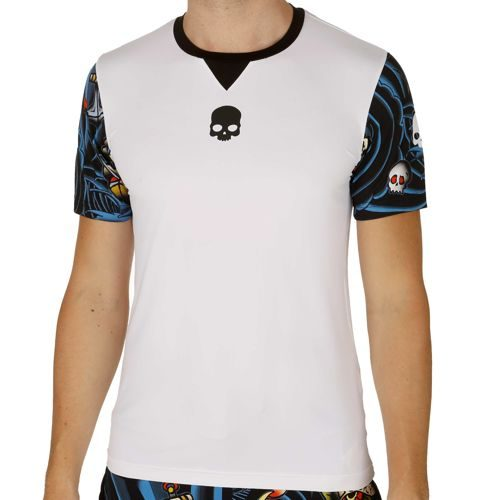 Hydrogen Tattoo Tech T-Shirt Men - White