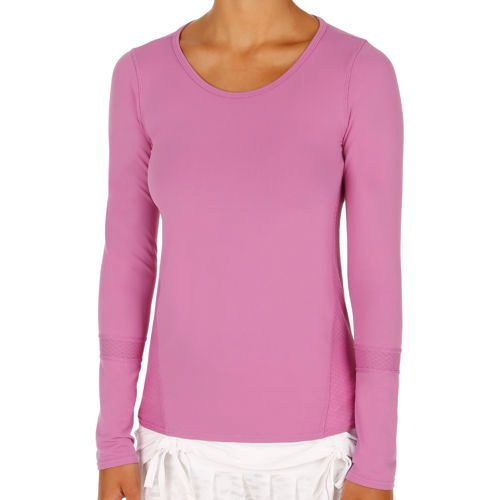 Tonic Sound Wave Top Long Sleeve Women - Pink