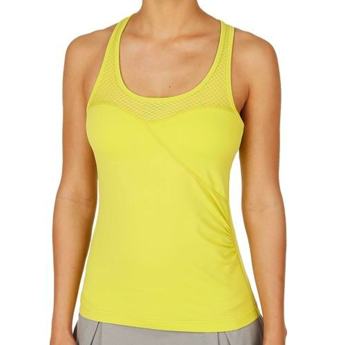 Tonic Motion Tank Top Women - Yellow
