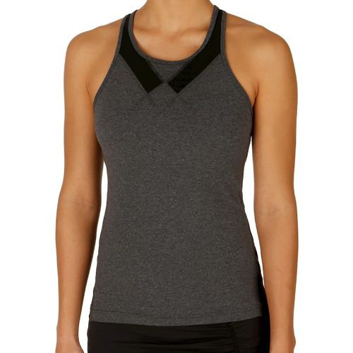 Tonic Lucid Tank Top Women - Anthracite, Black