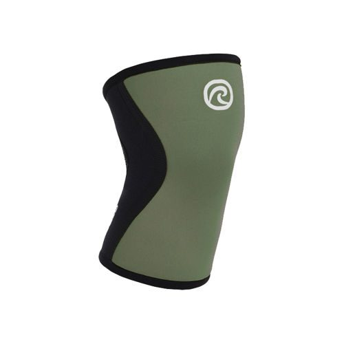 Rehband Core Line Knee Bandage 5mm - Green, Brown