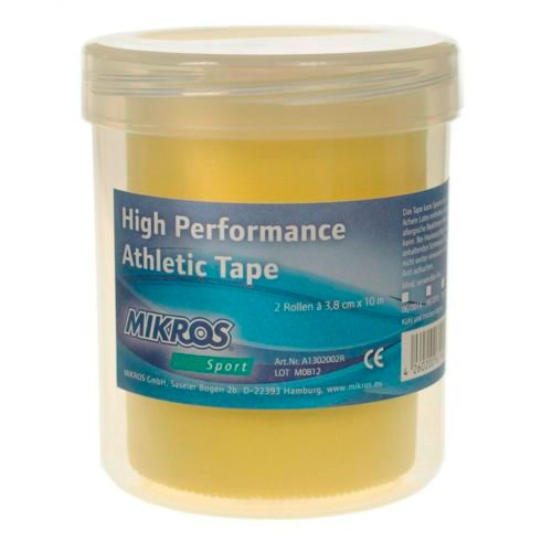 Mikros High Performance Tape 2 Rolls Box - Yellow