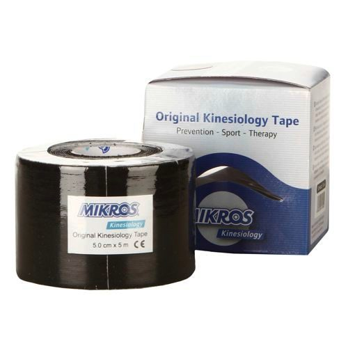 Mikros Kinesiology Tape 1 Roll 5mx5cm - Black