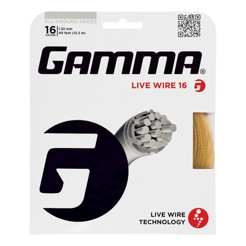Gamma Live Wire String Set 12,2m - Ecru