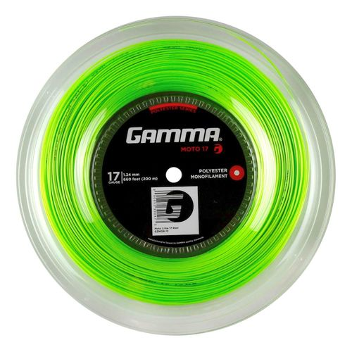 Gamma Moto String Reel 200m - Lime