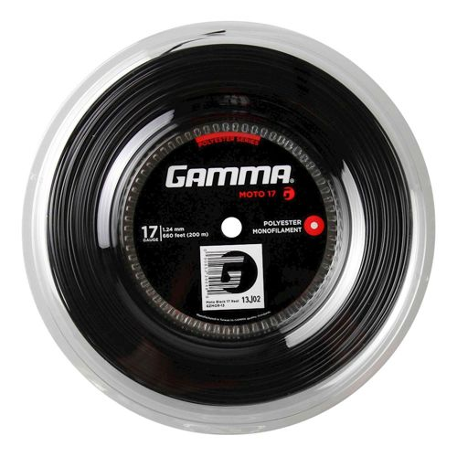 Gamma Moto String Reel 200m - Black