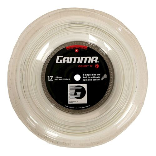 Gamma Ocho String Reel 200m - White