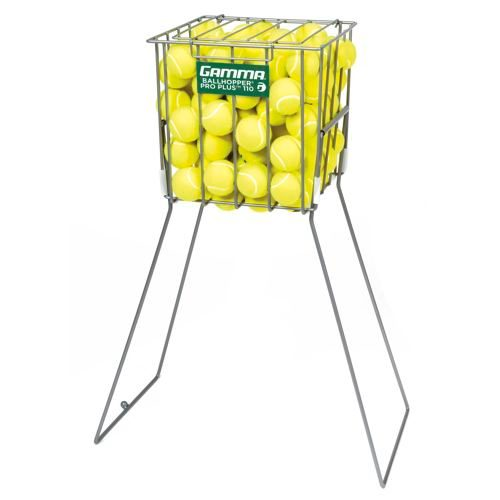 Gamma Ballhopper Pro Plus 110 Ball Basket - Silver