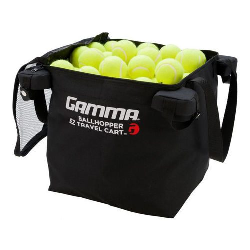 Gamma Ballhopper EZ Travel Cart 150 Extra Ball Basket - Black