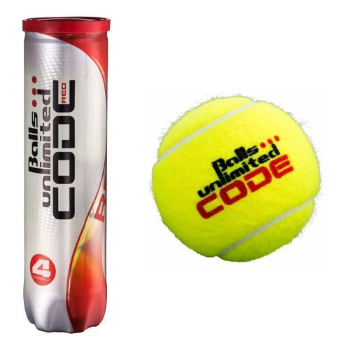Balls Unlimited Code Red 4 Ball Tube