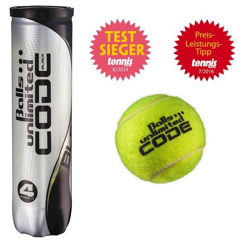 Balls Unlimited Code Black 4 Ball Tube