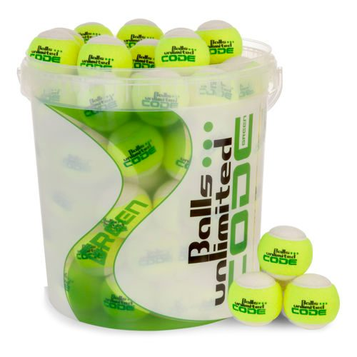 Balls Unlimited Code Green 60 Pack Plus Ball Bucket