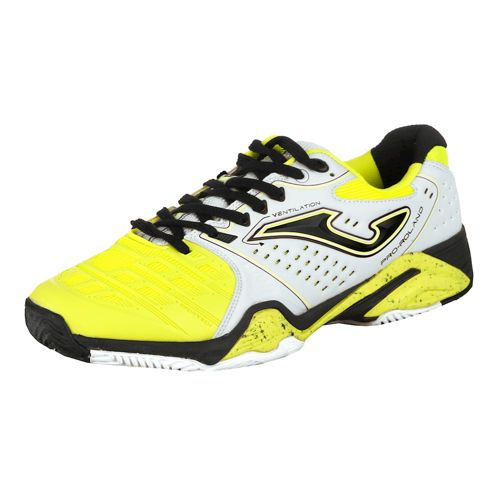 Joma T- Pro Roland 502 All Court Shoe Men - White, Yellow