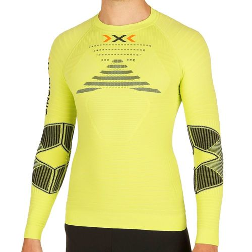 X-Bionic Bionic - Effektor Power OW Long Sleeve Men - Light Green, Black