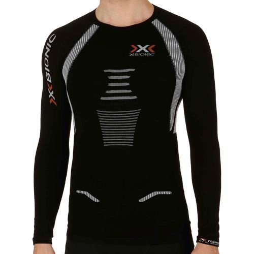 X-Bionic Bionic - The Trick Running OW Long Sleeve Men - Black, White