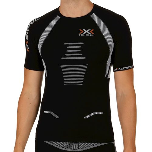 X-Bionic Bionic - The Trick Running T-Shirt Men - Black, White