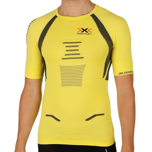 X-Bionic Bionic - The Trick Running Compression T-shirt Men - Neon Green, Black