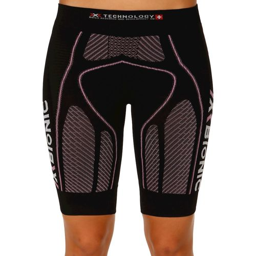 X-Bionic Bionic - The Trick Running Shorts Women - Black, Pink