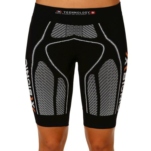 X-Bionic Bionic - The Trick Running Compression Shorts Women - Black, White