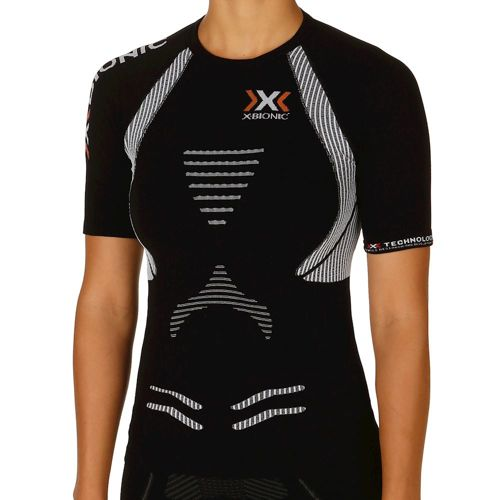X-Bionic Bionic - The Trick Running T-Shirt Women - Black, White