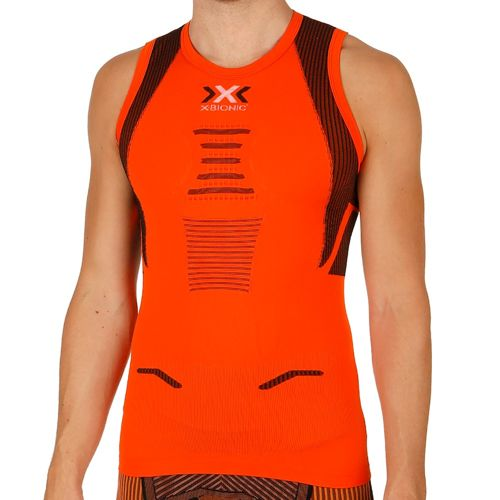 X-Bionic Bionic - The Trick Running Singlet Sleeveless Men - Orange, Black