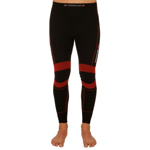 X-Bionic Bionic - Effektor Effektor Power Compression Pants Men - Black, Red