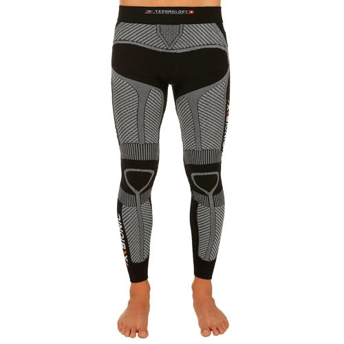 X-Bionic Running The Trick Compression Pants Men - Black, White