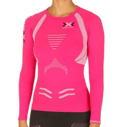X-Bionic The Trick Long Sleeve Women - Pink, White