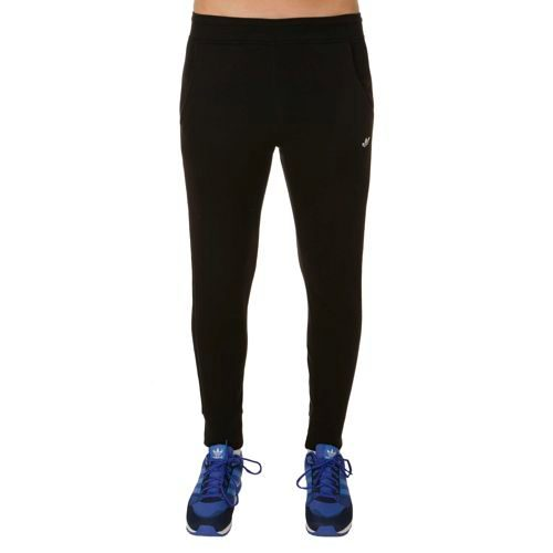 adidas Originals Fitted Cuffed Training Pants Men - Black, White