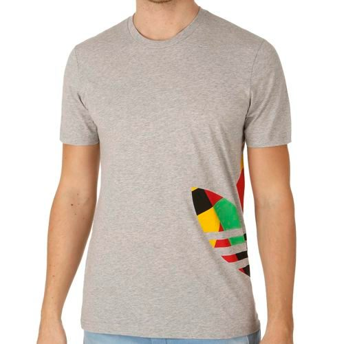 adidas Originals Mosaic Trefoil T-Shirt Men - Lightgrey