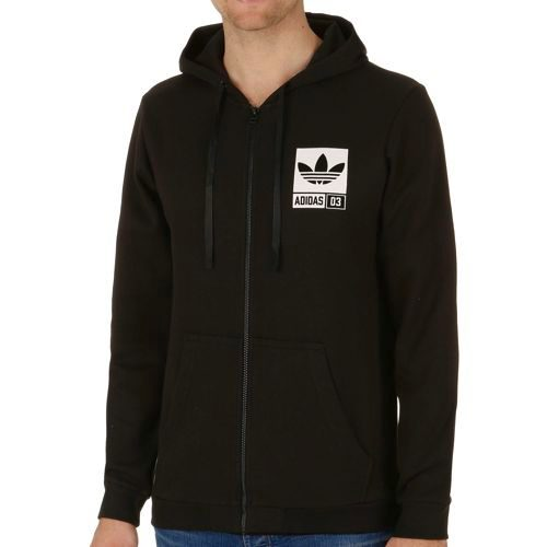 adidas Originals Street Graphic FZ Hoody Men - Black, White