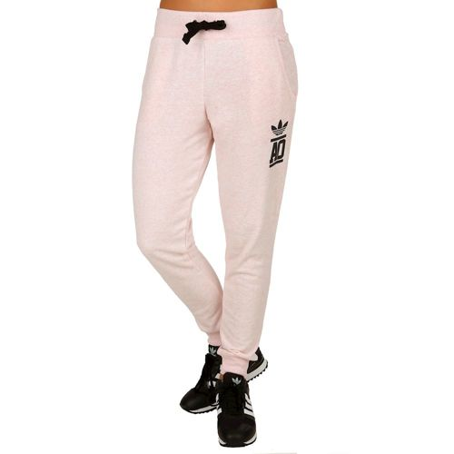 adidas Originals Baggy French Terry Pants Women - Pink, Black