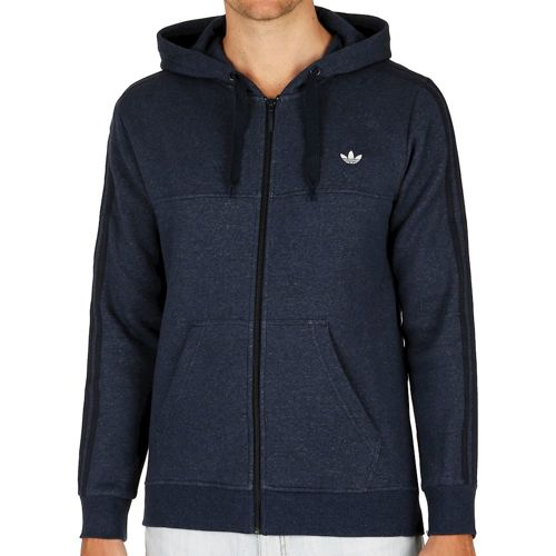 adidas Originals Classic Trefoil FZ Hoody Men - Dark Blue