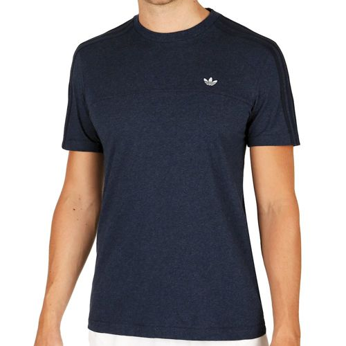 adidas Originals Classic Trefoil T-Shirt Men - Dark Blue