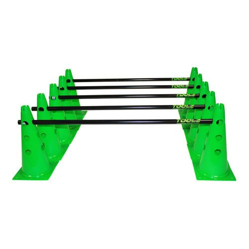 TOOLZ Set Training Cones - Green, Black