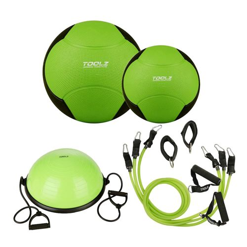 TOOLZ Strengthening Kit - Green, Black