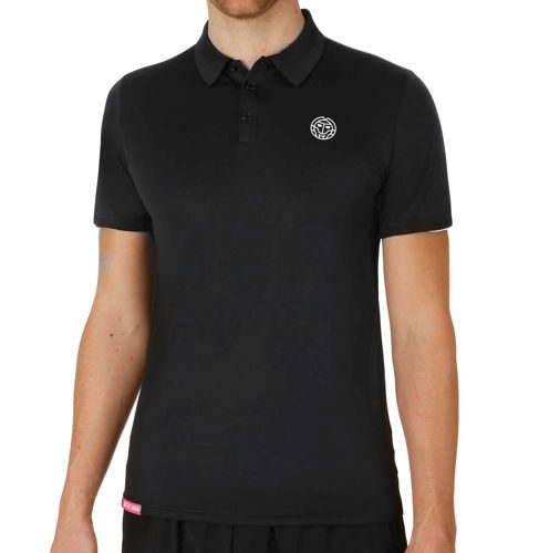 BIDI BADU Chris Tech Polo Men - Black