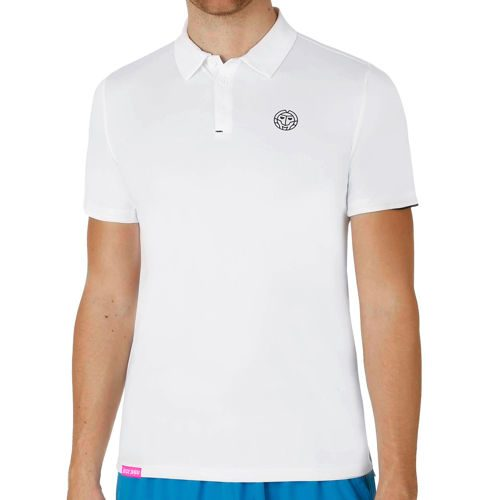 BIDI BADU Chris Tech Polo Men - White