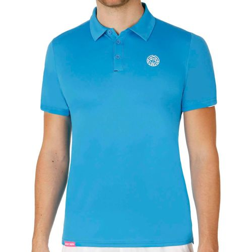 BIDI BADU Chris Tech Polo Men - Blue