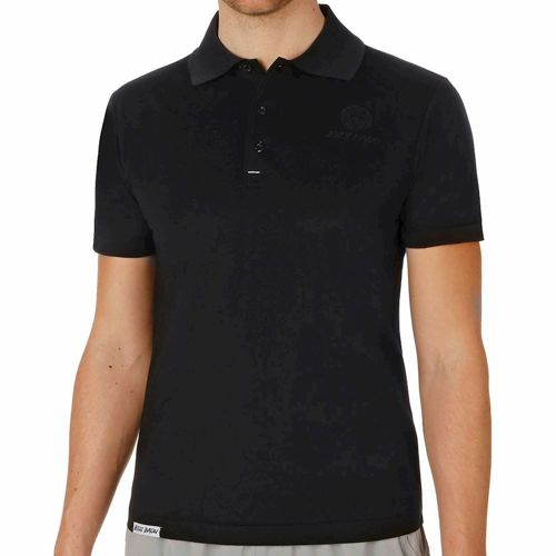 BIDI BADU Sammy Pique Black Edition Polo Men - Black