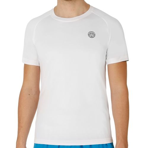 BIDI BADU Henry Tech T-Shirt Men - White