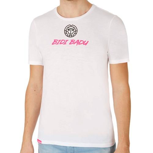 BIDI BADU Lenny Basic Fun T-Shirt Men - White