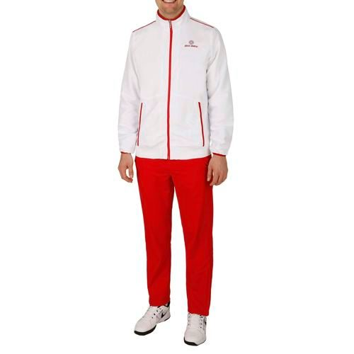 BIDI BADU Sammy Tech Tracksuit Men - Red