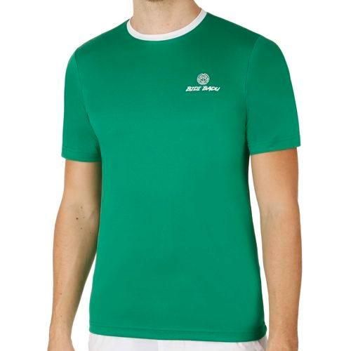 BIDI BADU Alek Tech Team T-Shirt Men - Green, White