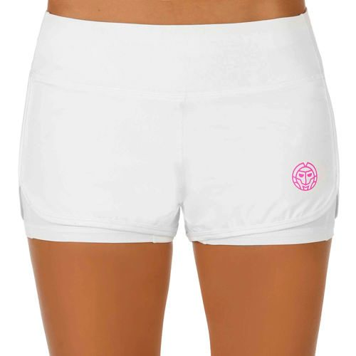 BIDI BADU Kady 2in1 Tech Shorts Women - White