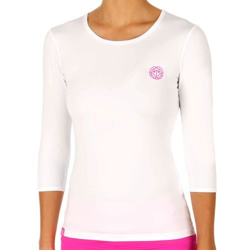 BIDI BADU Ines Tech Long Sleeve Women - White